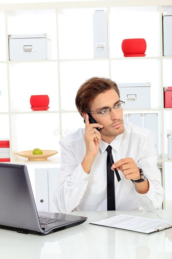 Telefonaufruf stockfotografie