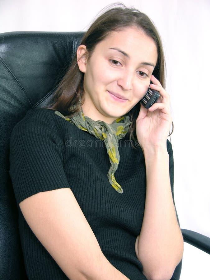 Telefonaufruf lizenzfreie stockfotos