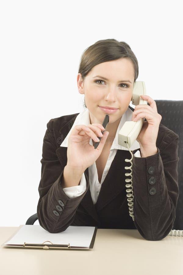 Telefonbediener lizenzfreies stockbild