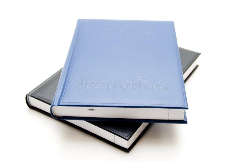 Telefonbuch für Schule und Büro stockbild