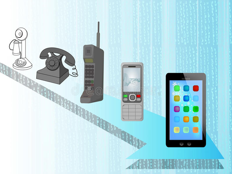 Telefone lizenzfreie abbildung