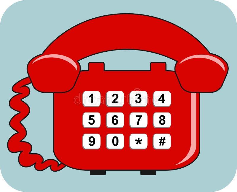 Download Telefone ilustração do vetor. Ilustração de ícones, escritório - 52440