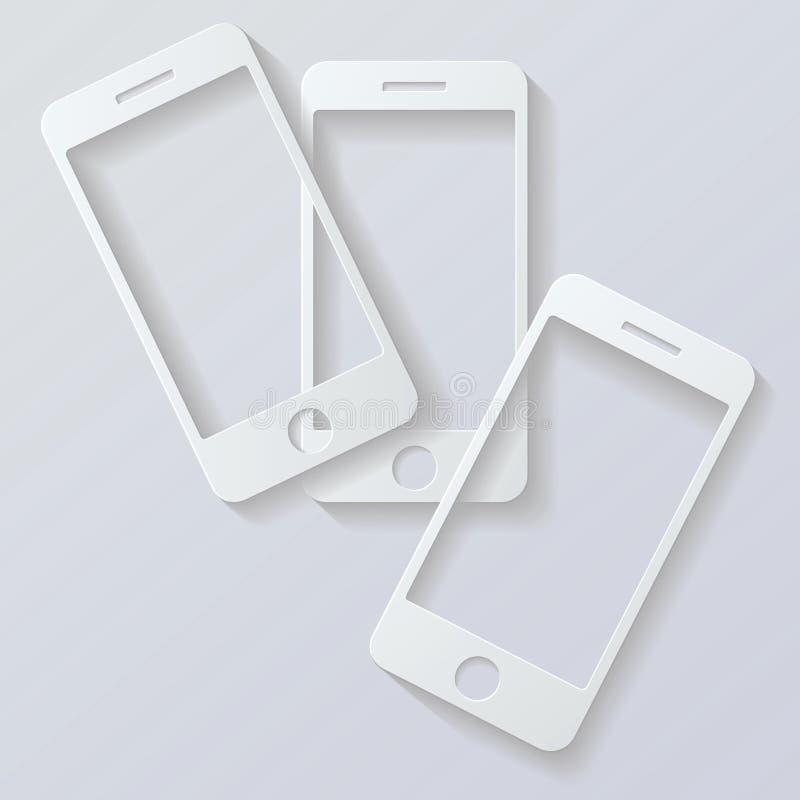 Telefone celular  ilustração royalty free