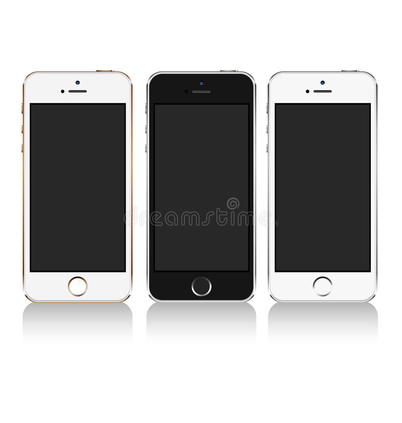 Telefone celular ilustração stock