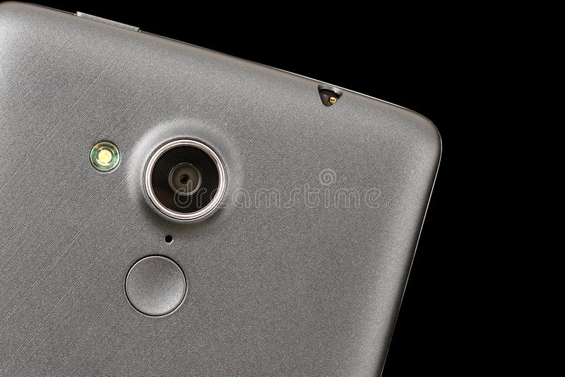 Telefone celular da câmera foto de stock