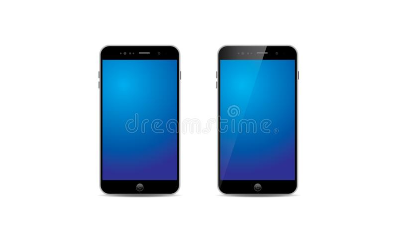Telefone celular de Android ilustração royalty free