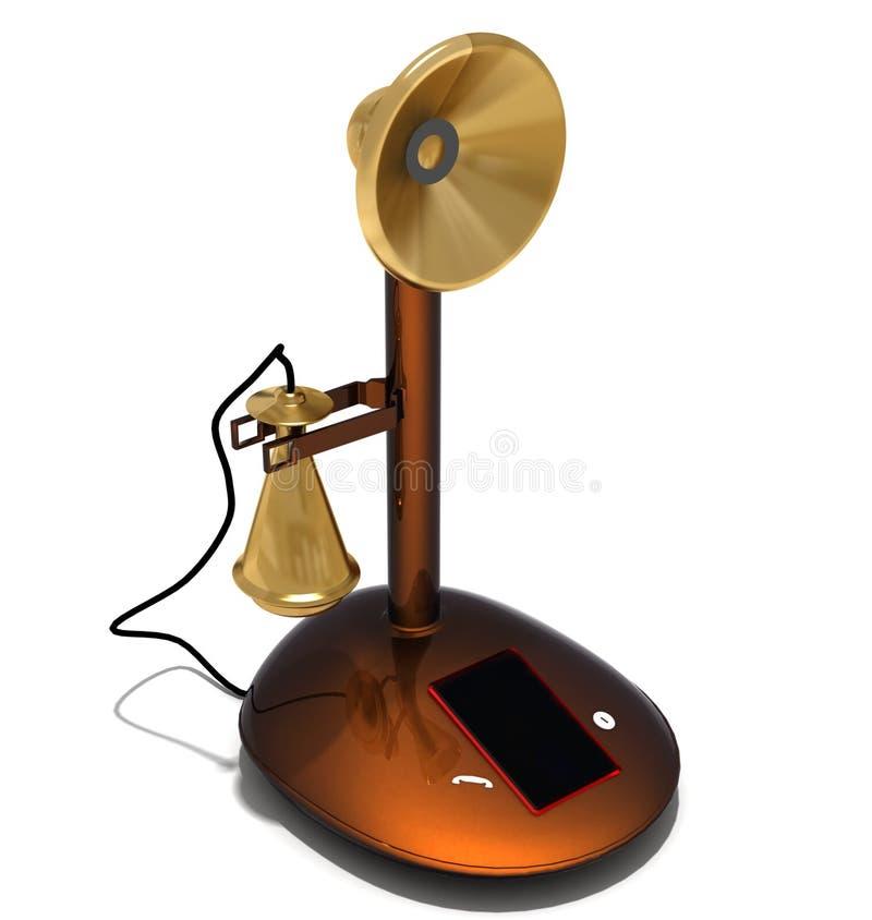 Telefone Conventionalized ilustração do vetor