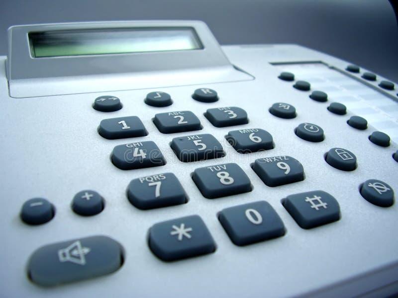 Telefone da mesa fotos de stock