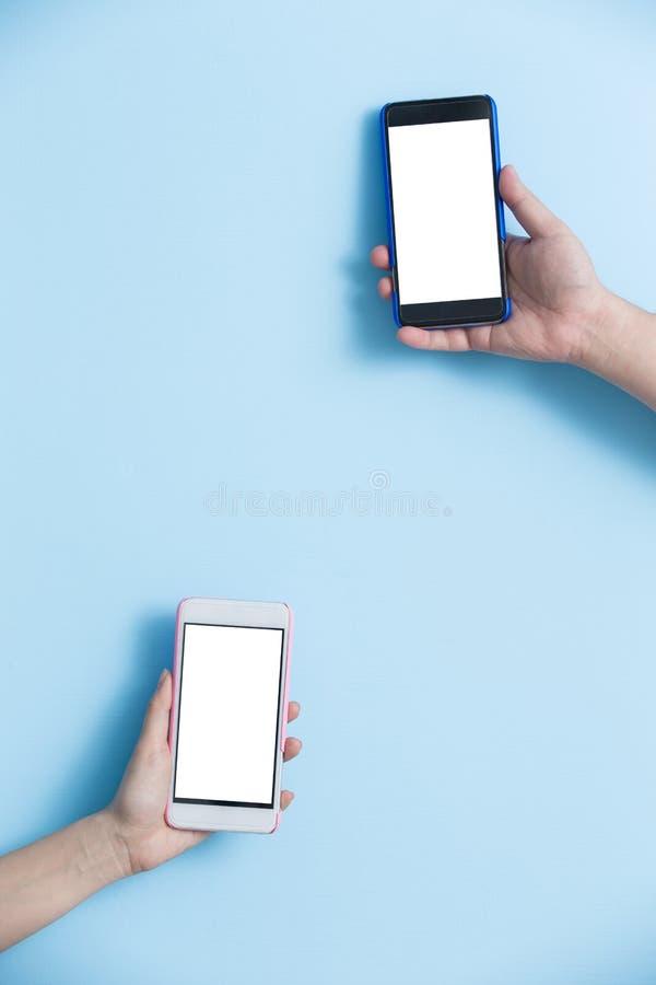 Telefone da tomada da mão imagem de stock royalty free