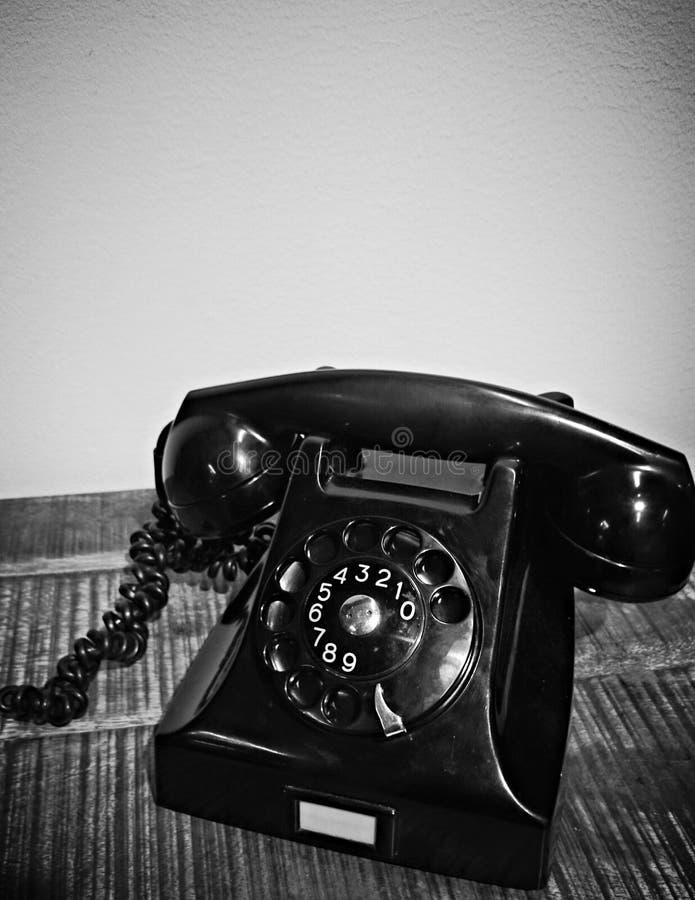 Telefone da velha escola fotos de stock