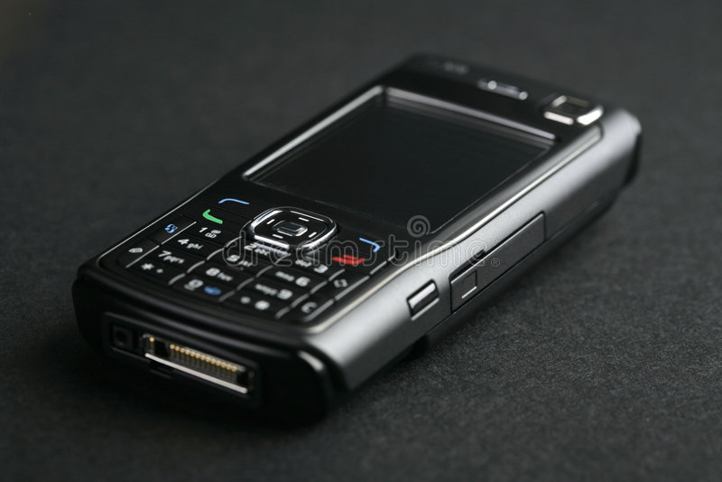 Telefone de pilha imagens de stock