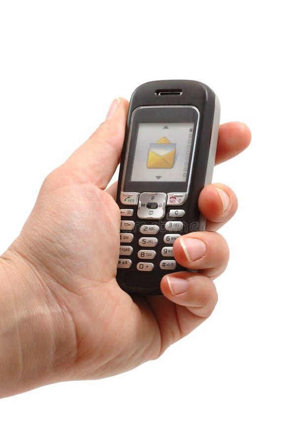 Telefone de pilha ilustração do vetor
