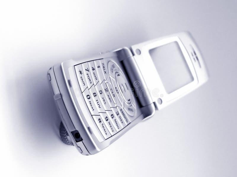 Telefone de pilha cheio fotografia de stock royalty free