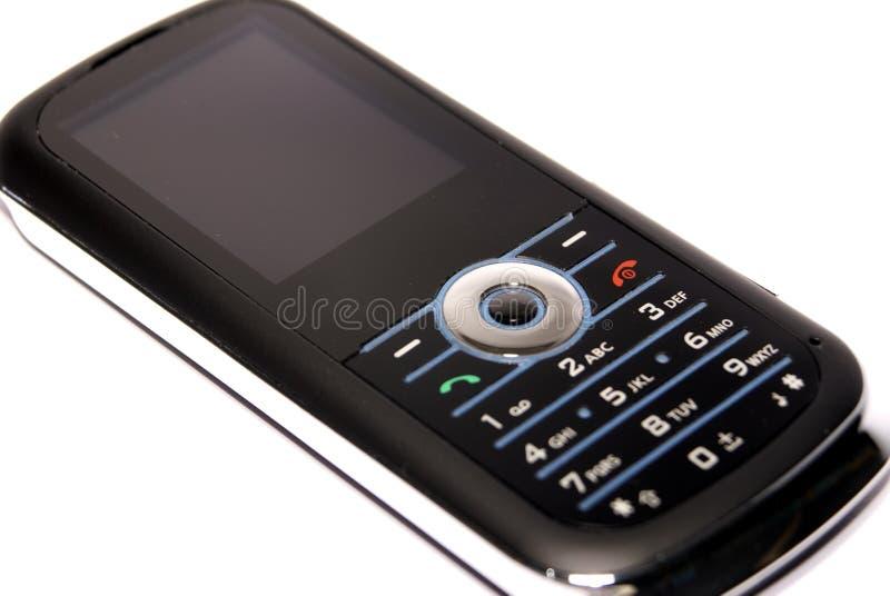 Telefone de pilha preto magro imagens de stock