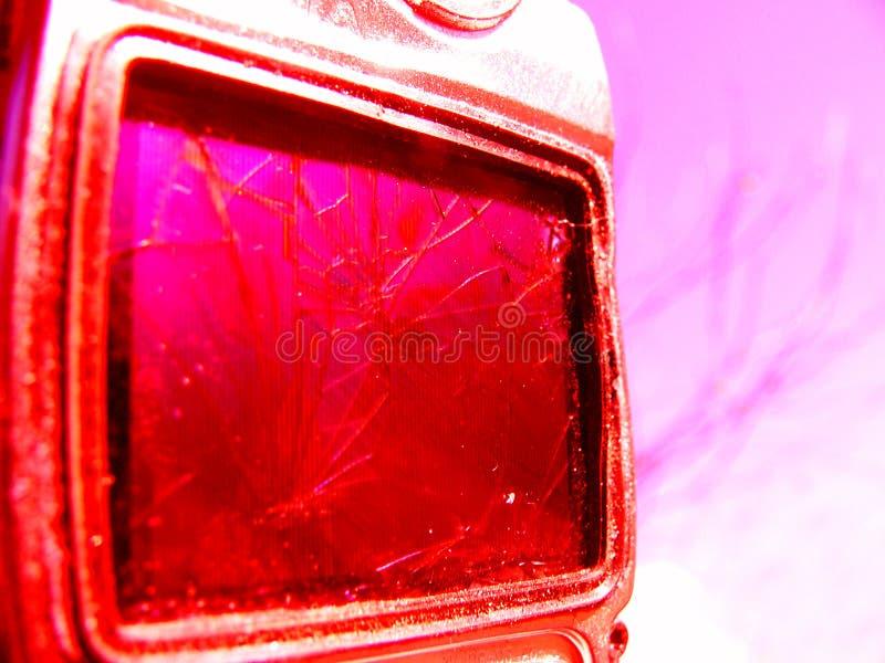 Telefone de pilha quebrado fotografia de stock royalty free