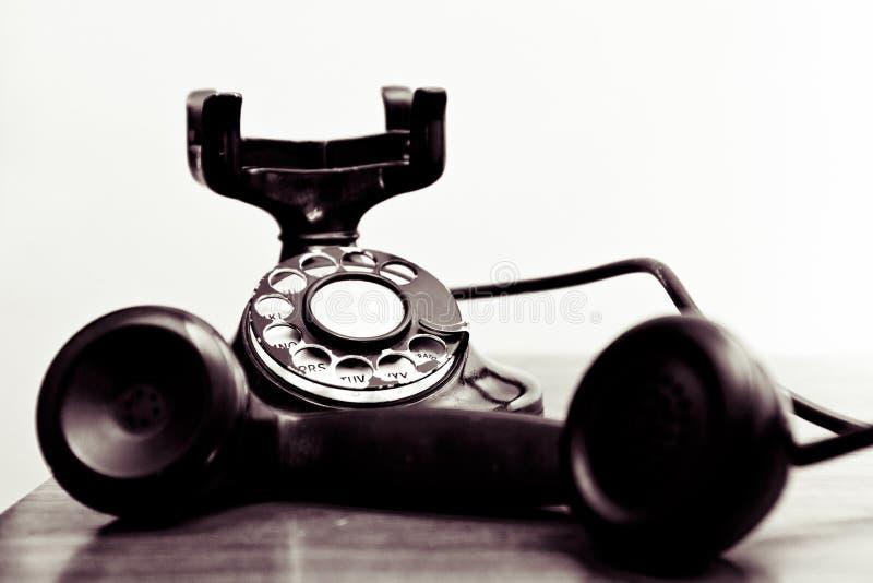 Telefone de seletor giratório do vintage fotografia de stock royalty free