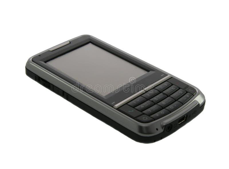 Telefone de tela do toque fotografia de stock