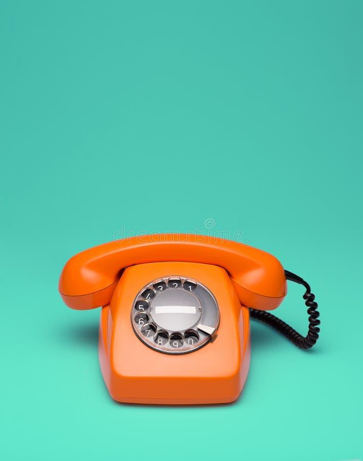 Telefone denominado retro fotografia de stock royalty free