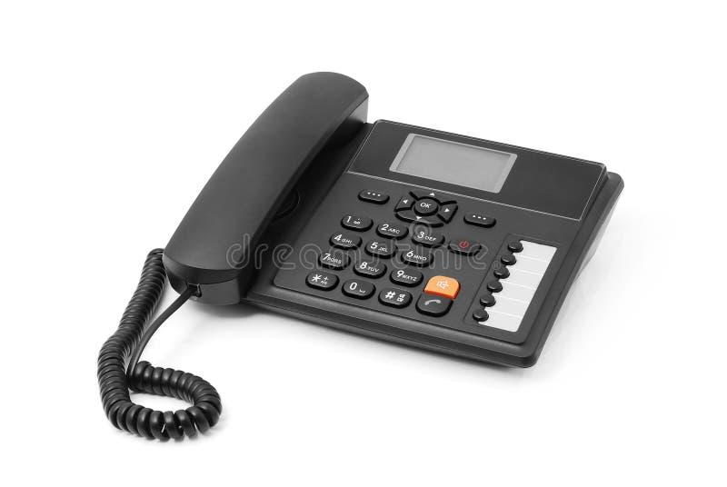 Telefone do escritório imagem de stock