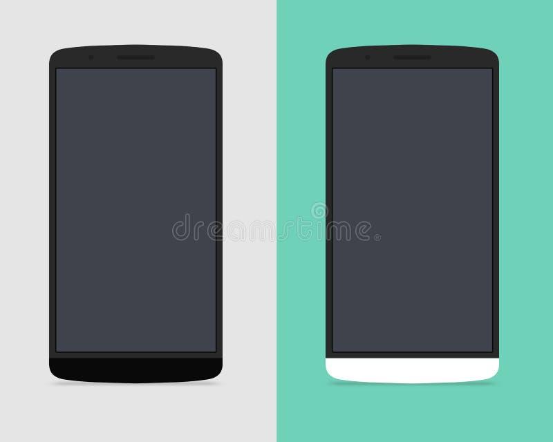 Telefone do LG G3 ilustração do vetor