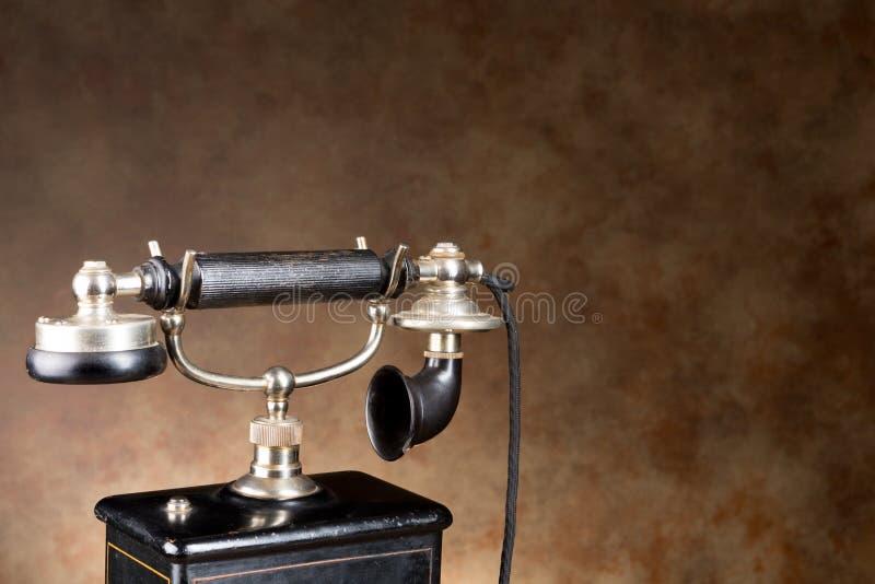 Telefone do vintage foto de stock