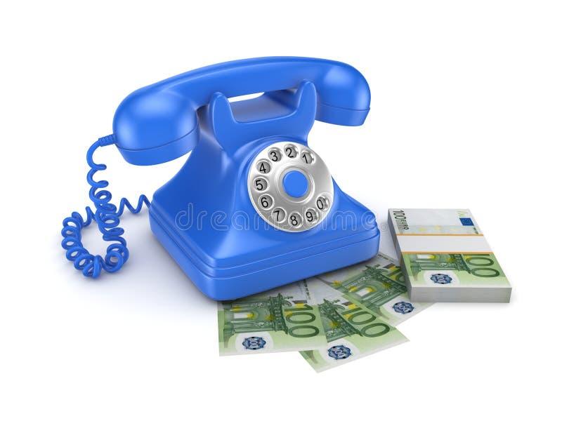 Telefone do vintage ilustração do vetor