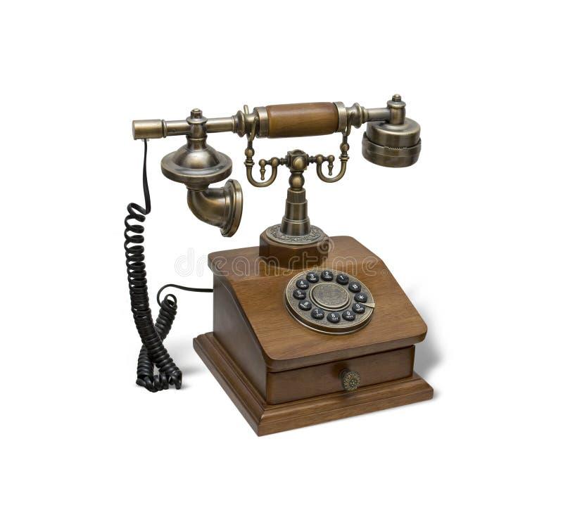 Telefone do vintage foto de stock royalty free