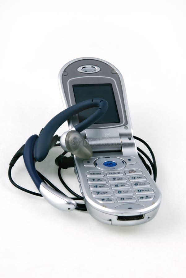 Telefone e microfone sem fio. fotografia de stock royalty free