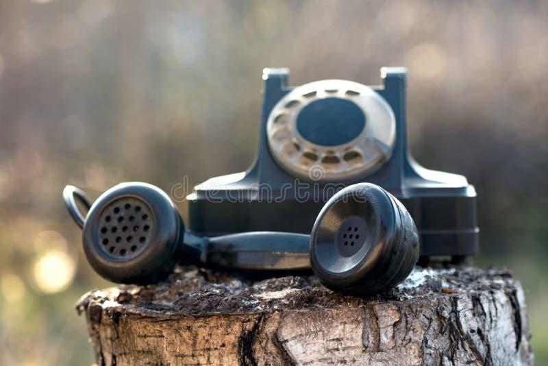 Telefone girat?rio imagens de stock