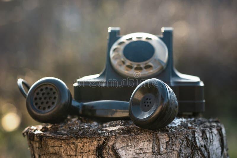Telefone girat?rio imagem de stock royalty free