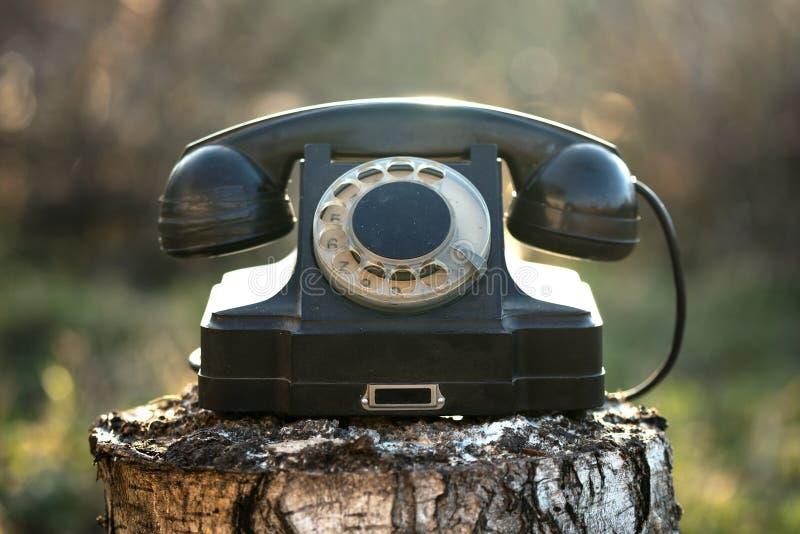 Telefone girat?rio imagens de stock royalty free