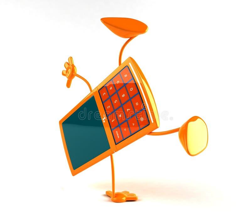 Telefone móvel ilustração do vetor