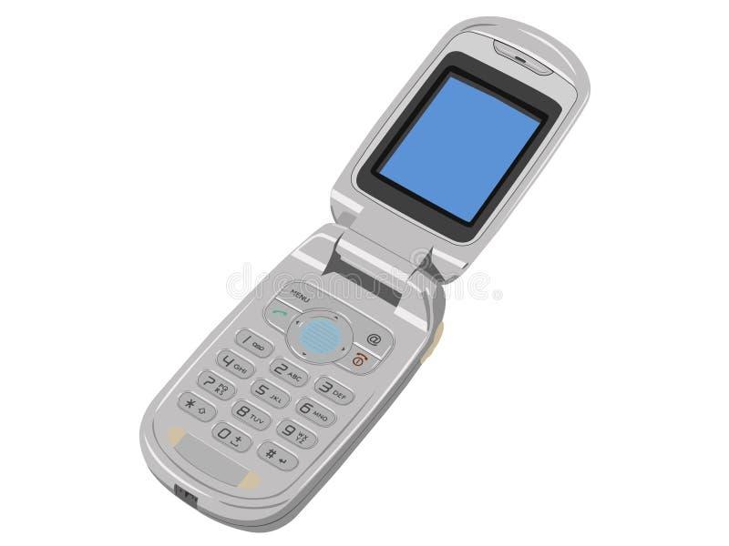 Telefone móvel. ilustração do vetor