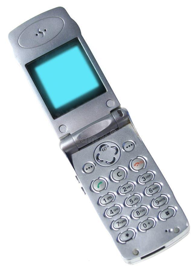Telefone móvel isolado fotografia de stock