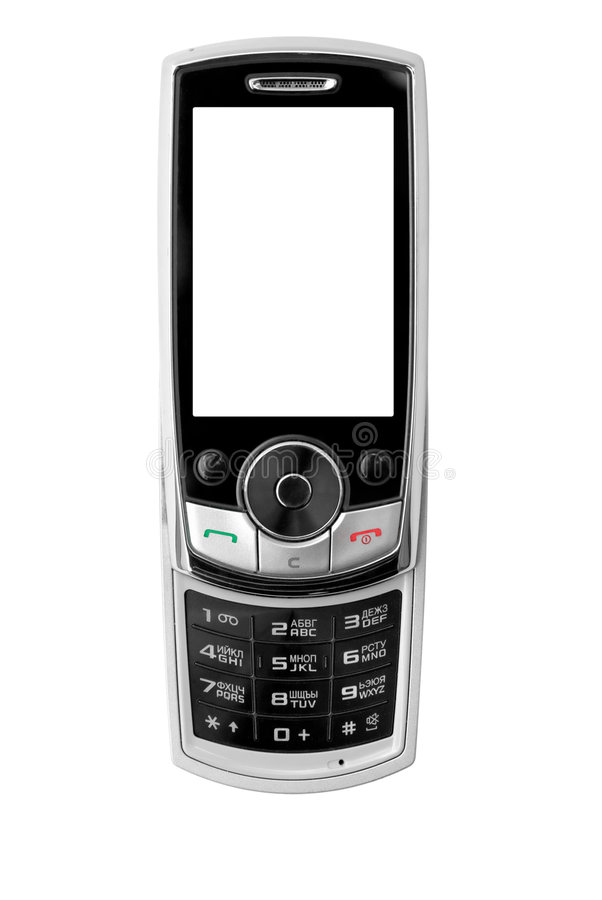 Telefone móvel moderno foto de stock royalty free