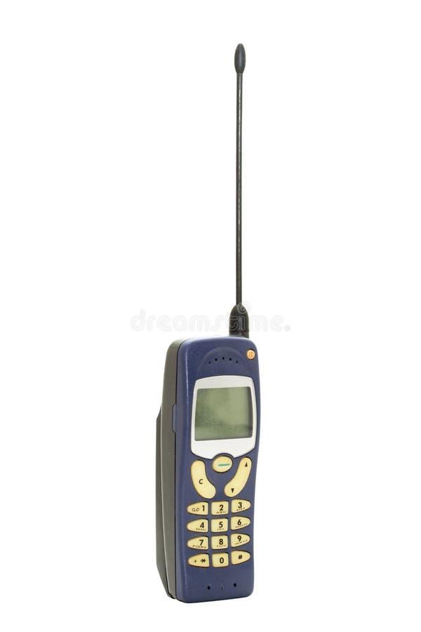 Telefone móvel velho foto de stock