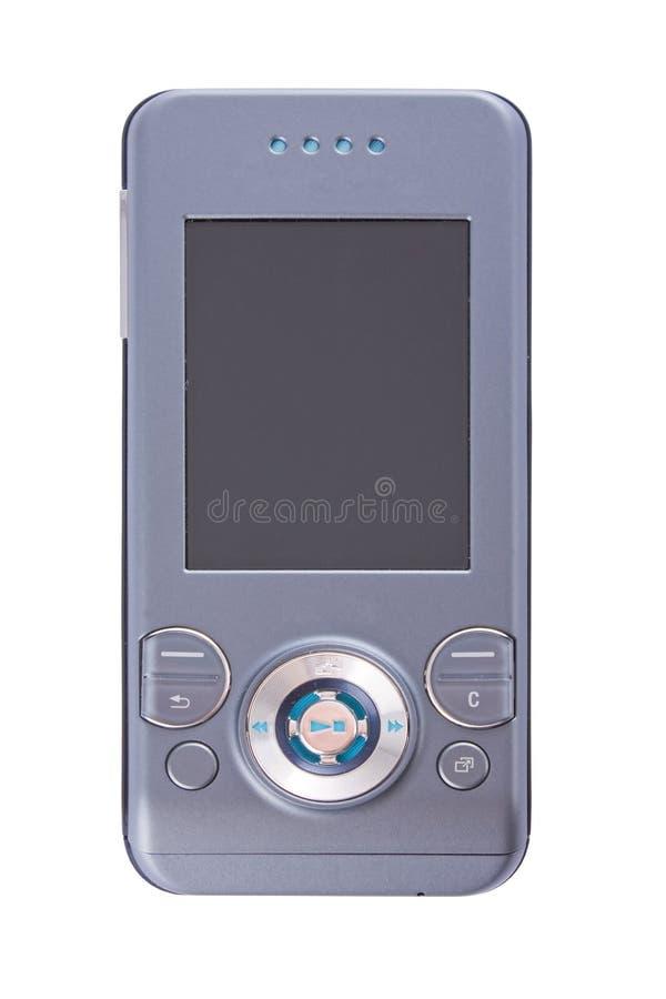 Telefone moderno fechado dos multimédios imagens de stock