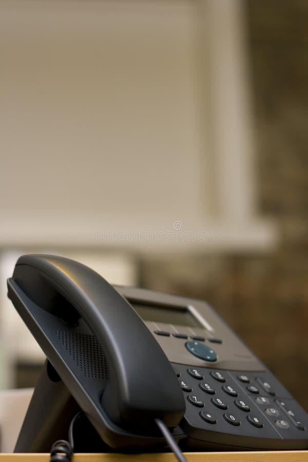 Telefone moderno - VoIP foto de stock