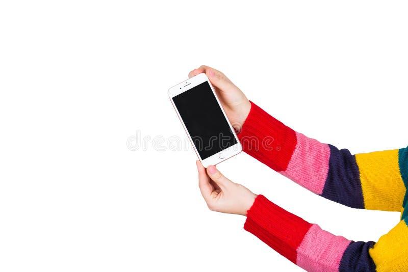 Telefone novo imagem de stock