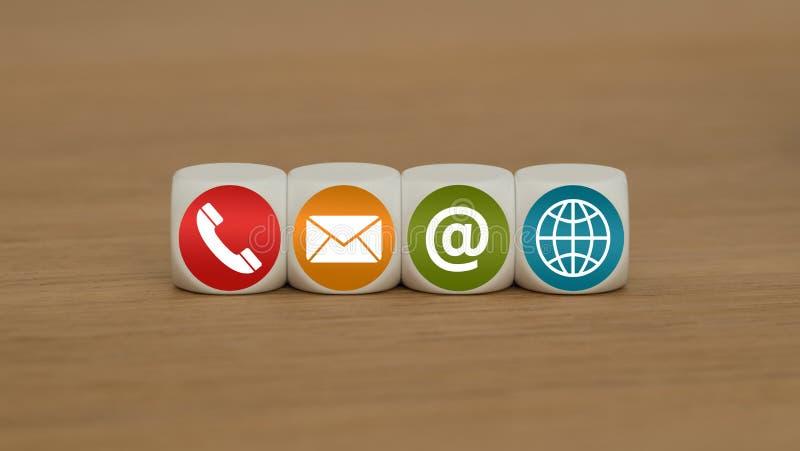 Telefone ou correio fotos de stock royalty free