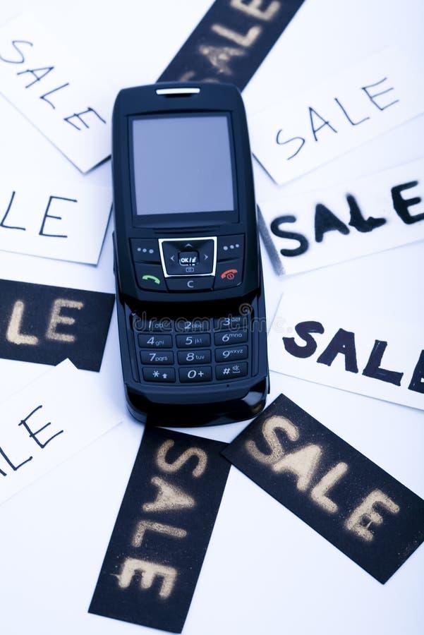Telefone para a venda fotografia de stock royalty free