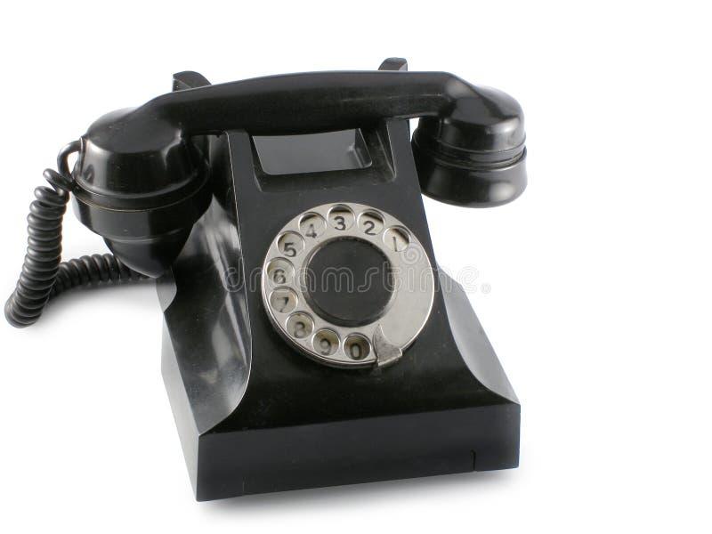 Telefone preto foto de stock royalty free