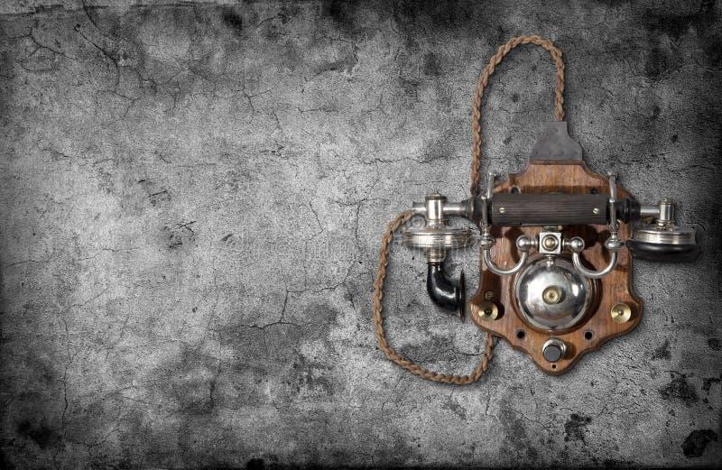 Telefone retro imagem de stock