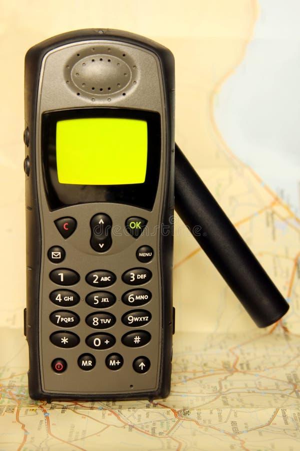 Telefone satélite imagens de stock royalty free