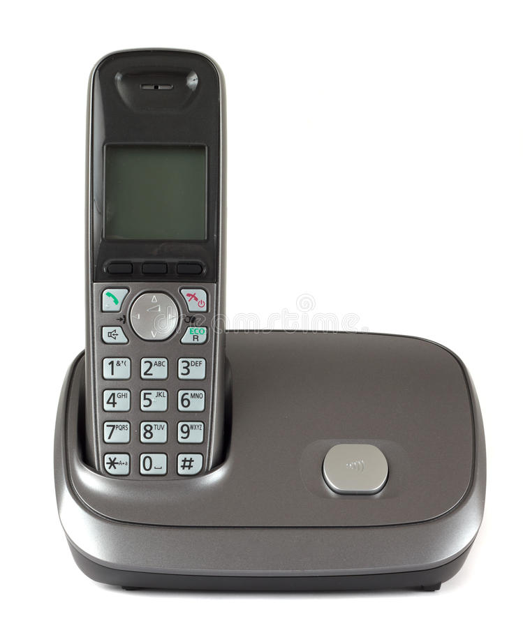 Telefone sem corda fotografia de stock