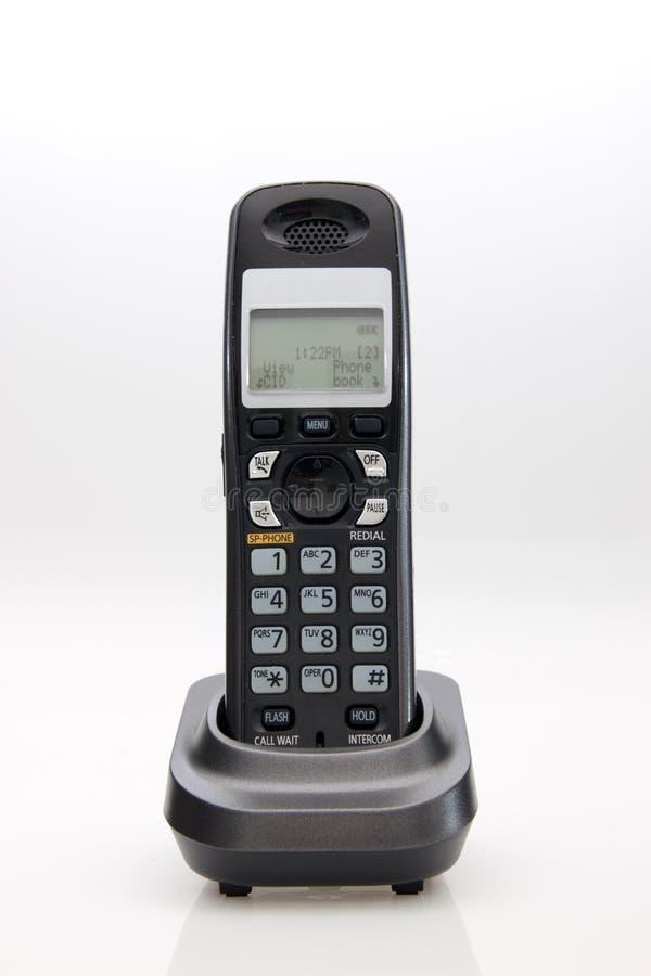 Telefone sem corda no berço fotos de stock royalty free