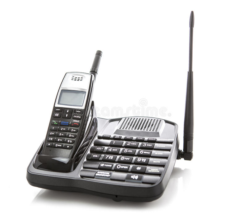 Telefone sem fios da longa distância fotografia de stock