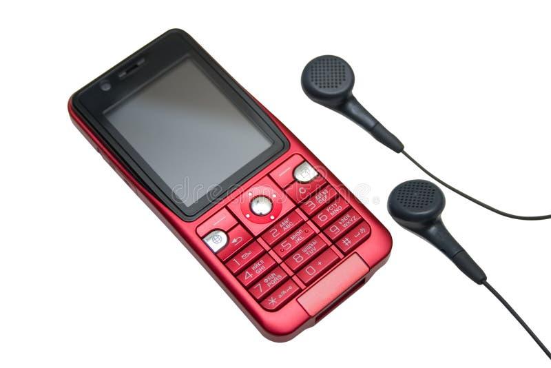 Telefone vermelho. imagem de stock royalty free