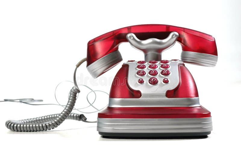 Telefone Vermelho 3 Fotos de Stock Royalty Free