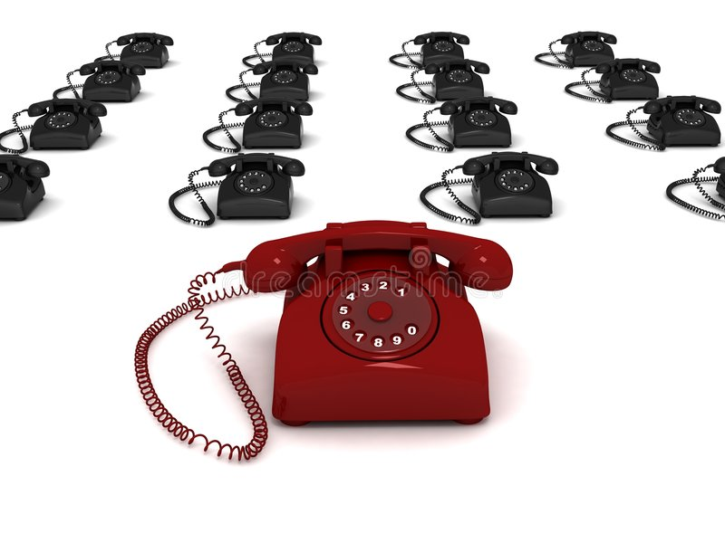 telefoner vektor illustrationer